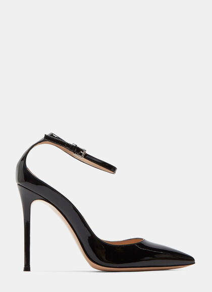 Buy Gia Patent Stiletto Heeled Pumps by Gianvito Rossi online