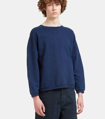 Dropped Shoulder Jersey Sweater by Olderbrother