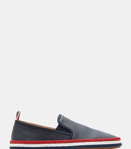 Slip-On Rubberised Espadrilles by Thom Browne