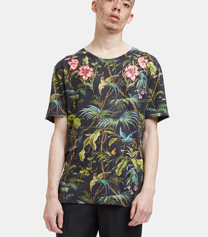 Floral Embroidered Botanic T-Shirt by Gucci