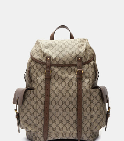 Neo Vintage GG Supreme Print Backpack by Gucci