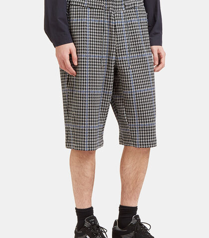 Houndstooth Shorts by Oamc