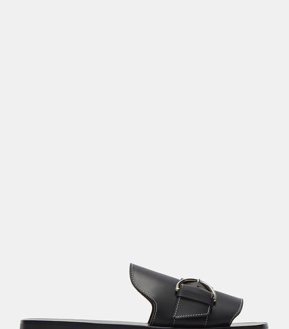 Virgie Buckled Slide Sandals by Acne Studios