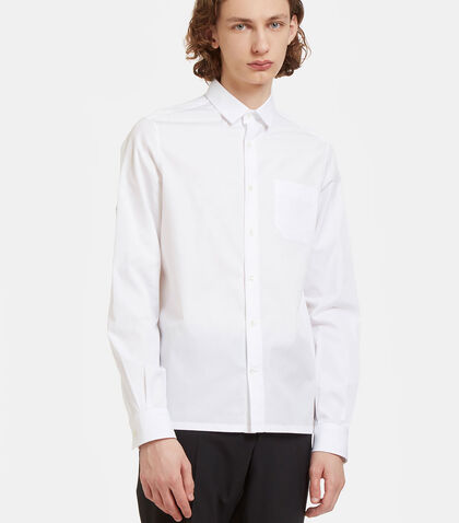 D-Ring Strapped Poplin Shirt by Valentino