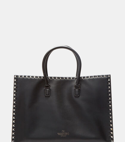Double Handle Rockstud Handbag by Valentino