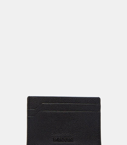 Grained Leather Card Holder by Lanvin