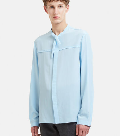 Silk Crêpe de Chine Shirt by Gucci