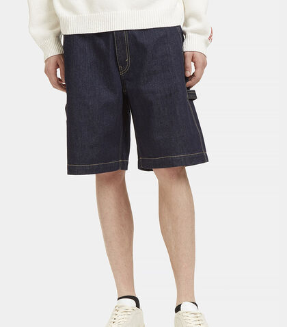 Contrast Stitch Denim Shorts by Stella McCartney