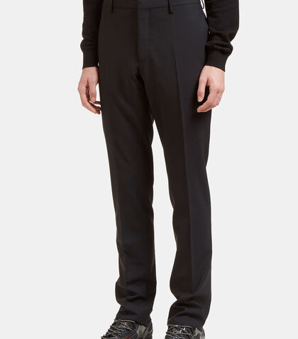 Lanvin Slim Fit Pleated D8 Pants by Lanvin