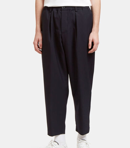 Wide Leg Wool Pants by Marni