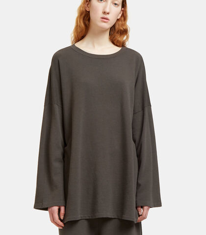 Oversized Round Neck Sweater by Lauren Manoogian