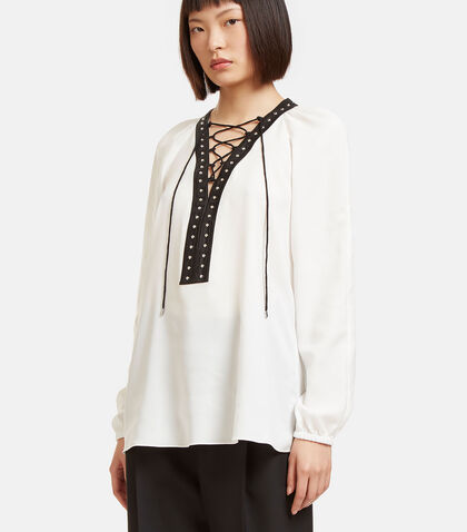 Yuba Stud Trimmed Blouse by Altuzarra