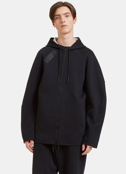Buy Sport Z Oversized Zip-Up Hooded Sweater by Y-3 men clothes online
