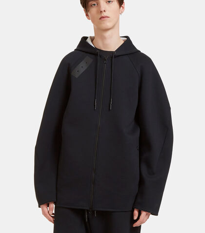 Sport Z Oversized Zip-Up Hooded Sweater by Y-3