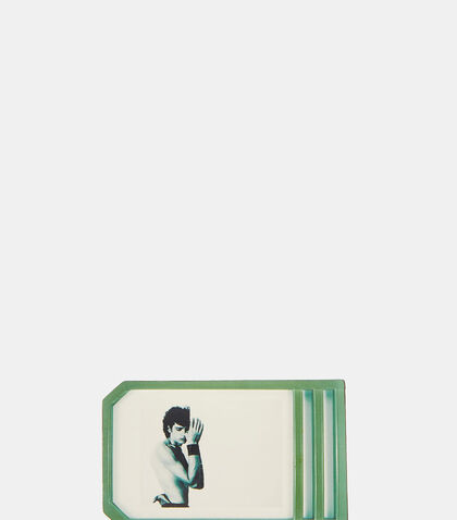 Self Portrait Card Case by Raf Simons