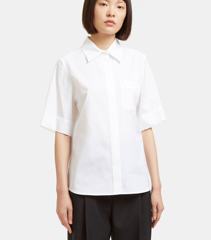 Embroidered Short Sleeved Shirt by Lanvin
