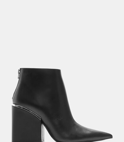 Oversized Block Heeled Boots by Marni