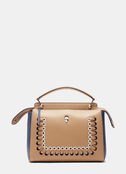 Buy Dotcom Loop Threaded Handbag by Fendi online