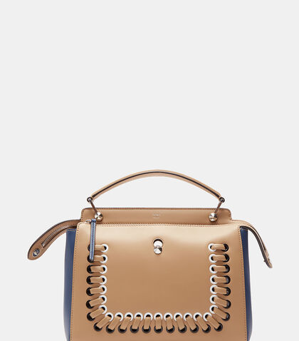 Dotcom Loop Threaded Handbag by Fendi