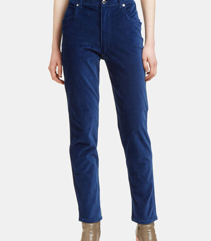 Velvet Straight Leg Pants by Eckhaus Latta