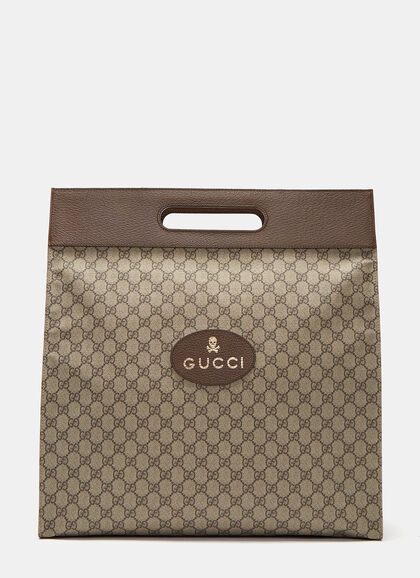 Buy Neo Vintage GG Supreme Print Tote Bag by Gucci men clothes online