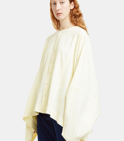 Oversized Cape Shirt by Eckhaus Latta