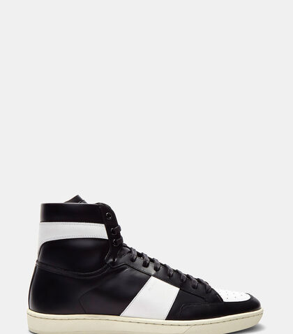 SL/10H High-Top Sneakers by Saint Laurent