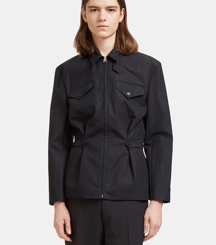 Buttoned Tab Shirt Jacket by J.W. Anderson