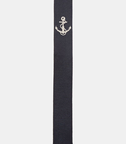 Anchor Intarsia Tie by Thom Browne