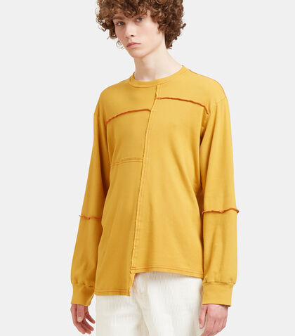 Lapped Stitched Sweater by Eckhaus Latta