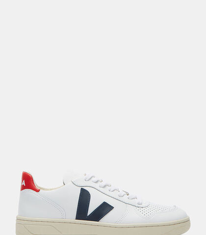V-10 Mid-Top Nautico Sneakers by Veja