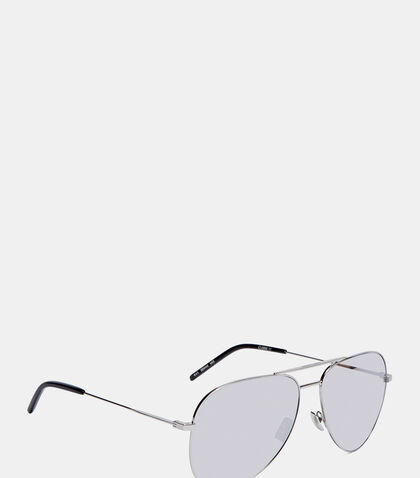 Classic 11 Mirrored Aviator Sunglasses by Saint Laurent