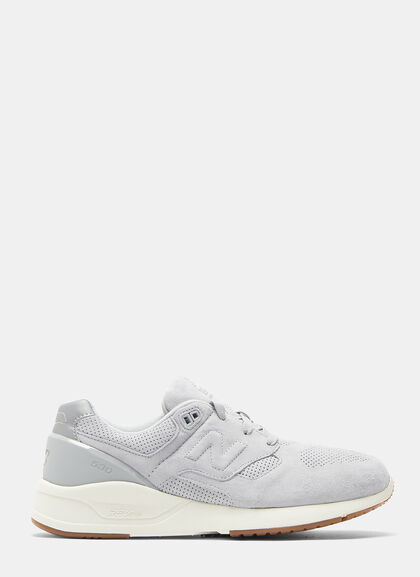 Buy 530 Deconstructed Suede Sneakers by New Balance men clothes online