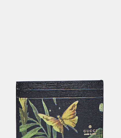 Foster Shangai Print Card Case by Gucci