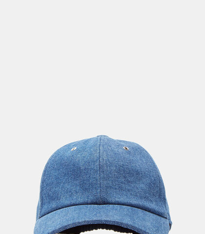 Denim Baseball Cap by Sunnei
