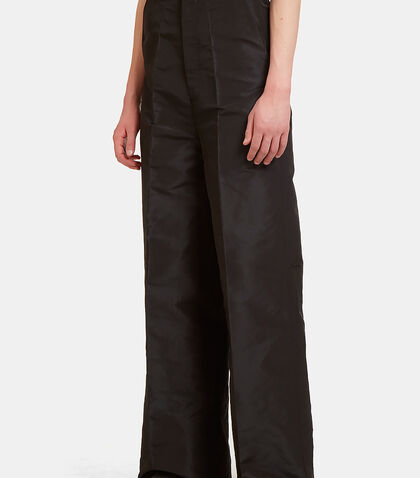Astaires Oxford Wide Leg Flared Pants by Rick Owens