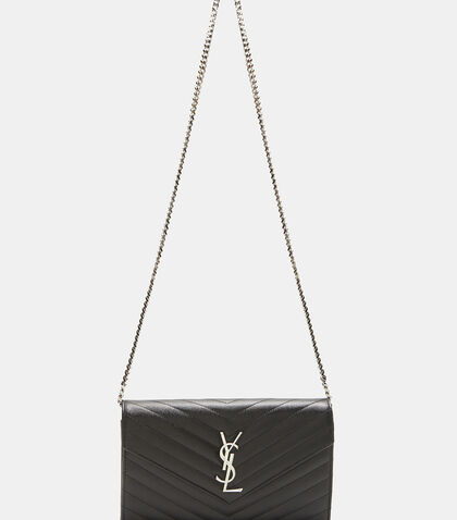 YSL Monogrammed Wallet Bag by Saint Laurent