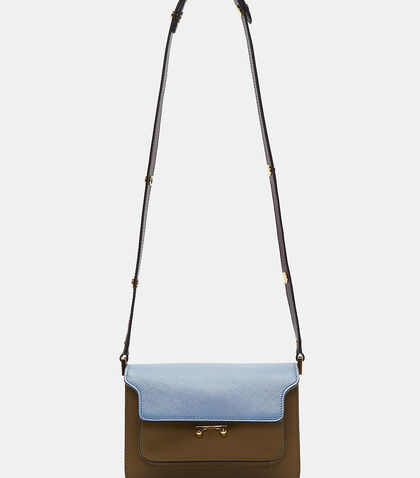 Mini Leather Trunk Shoulder Bag by Marni