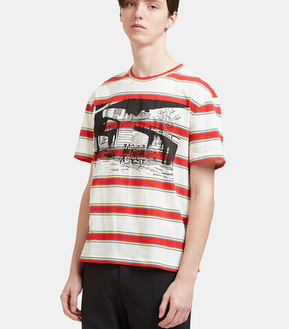 Striped Printed T-Shirt by Stella McCartney