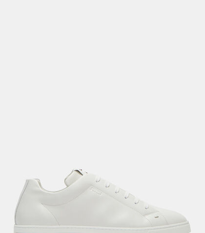 Low-Top Leather Sneakers by Fendi
