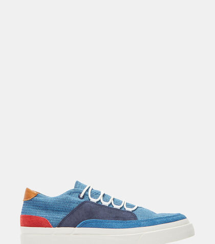 Shijira Contrast Panelled Low-Top Sneakers by Spingle Move W
