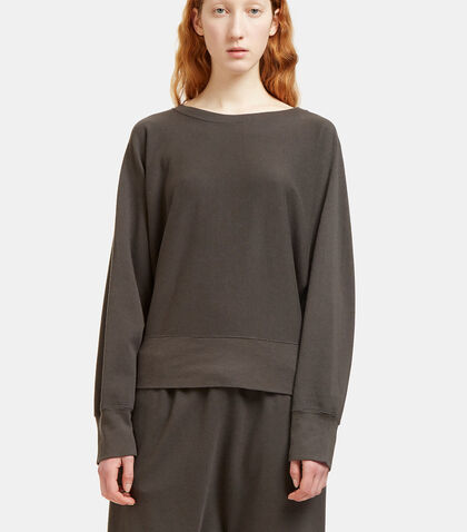 Oversized Batwing Sleeved Sweater by Lauren Manoogian