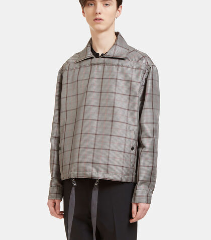 Horizontal Checked Jacket by Lanvin