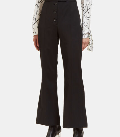 High-Waisted Flared Pants by Proenza Schouler