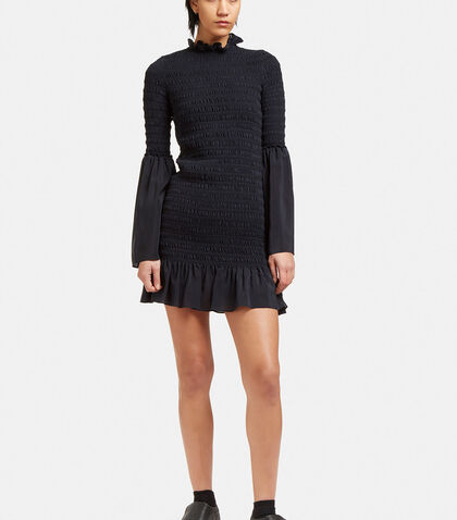 Kate Ruched Frill Dress by Stella McCartney