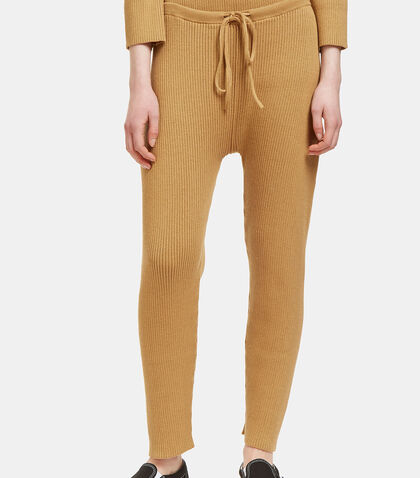 Arch Ribbed Track Pants by Lauren Manoogian
