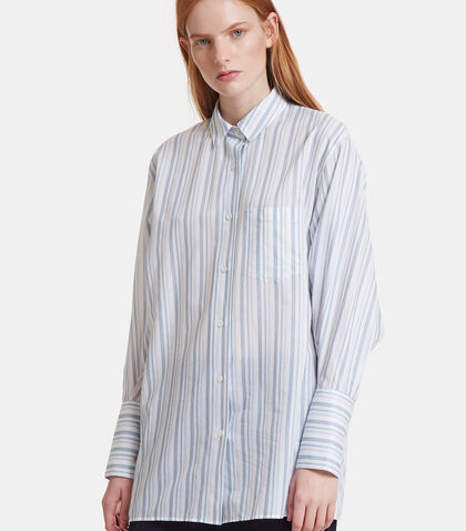 Bai Striped Cotton Shirt by Acne Studios