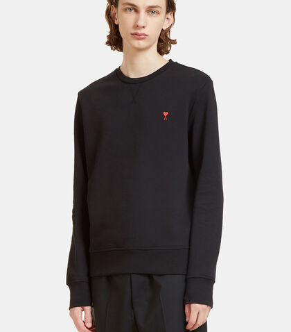 De Caur Motif Crew Neck Sweater by Ami