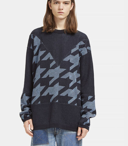 Star Intarsia Crew Neck Sweater by Stella McCartney