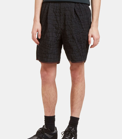 Crocodile Textured Shorts by Kolor